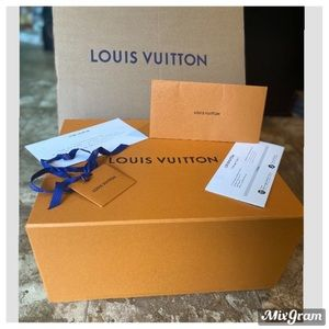 ✨LAST ONE Louis Vuitton Large Gift Box & packaging
